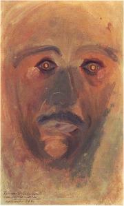 Arnold Schoenberg, self-portrait