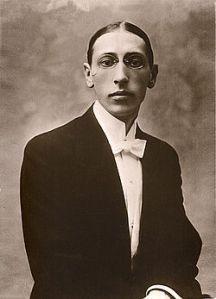 Igor Stravinsky in 1910.